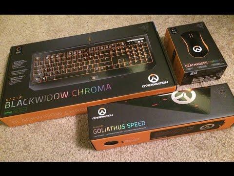 Razer Overwatch Chroma Mouse, Keyboard, & Mousepad GIVEAWAY!
