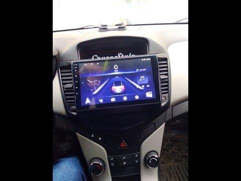 Магнитола Chevrolet Cruze (дорестайлинг)