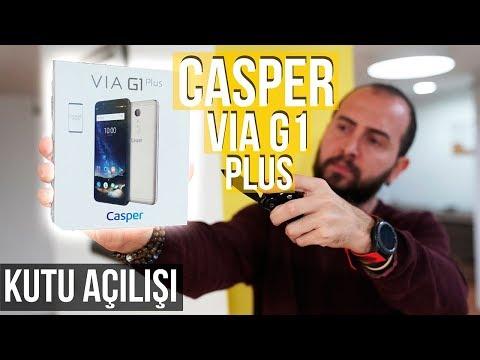 18:9 modasına yerli bakış! - Casper VIA G1 Plus kutu açılışı!