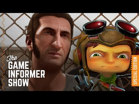 GI Show – Tim Schafer Meets A Way Out's Josef Fares