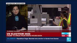 FRANCE 24's Florence Villemot says 2.5 million Pennsylvania voters cast mail-in ballots