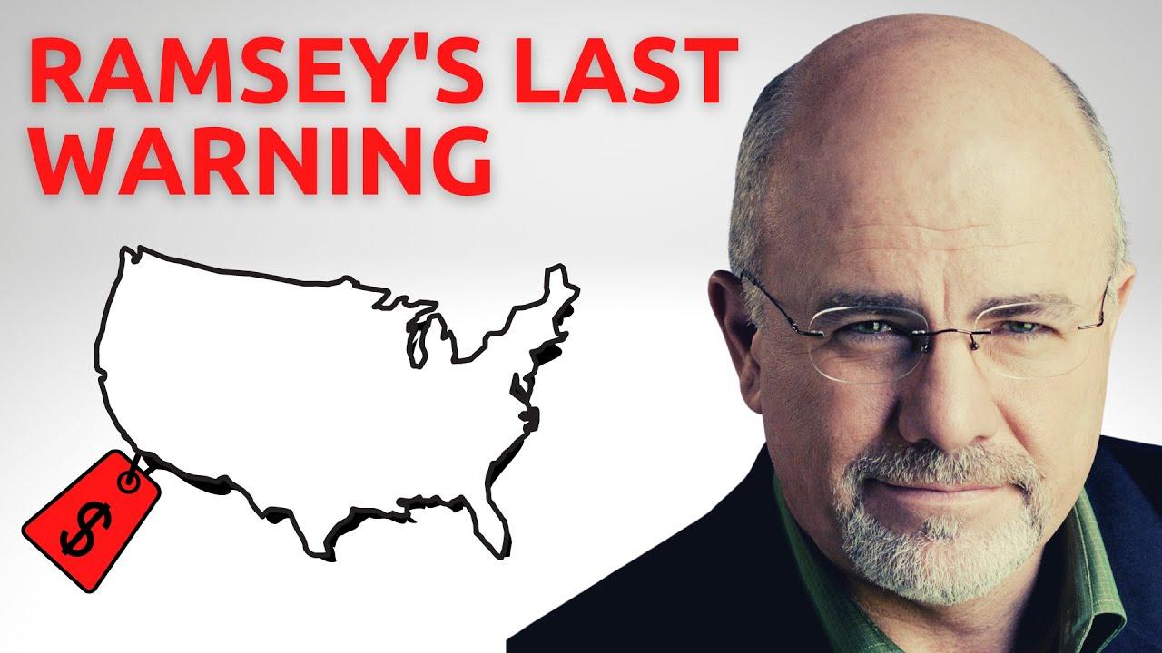 Dave Ramsey LOSES 1 MILLION OVERNIGHT | Real Estate Market Crash
