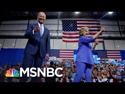 Joe Biden Not Ruling Out Secretary Of State For Hillary Clinton Cabinet | MSNBC