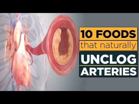 10 Foods that Naturally Unclog Arteries