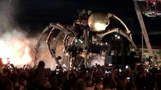 LA MACHINE OTTAWA GRAND FINALE. DRAGON FINAL BATTLE(FIGHT SCENE) AT CANADIAN WAR MUSEUM, CANADA