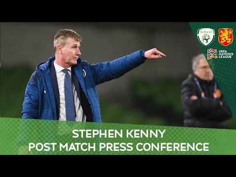 PRESS CONFERENCE | Stephen Kenny on the 0-0 draw with Bulgaria