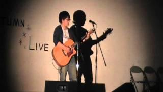 紅葉ライブ9曲目。スガシカオの「月とナイフ」です。