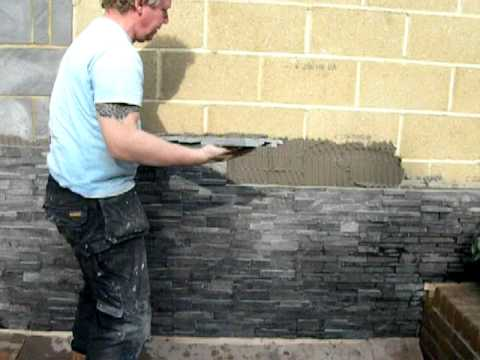 Martin Installing Norstone Rock Panels Youtube