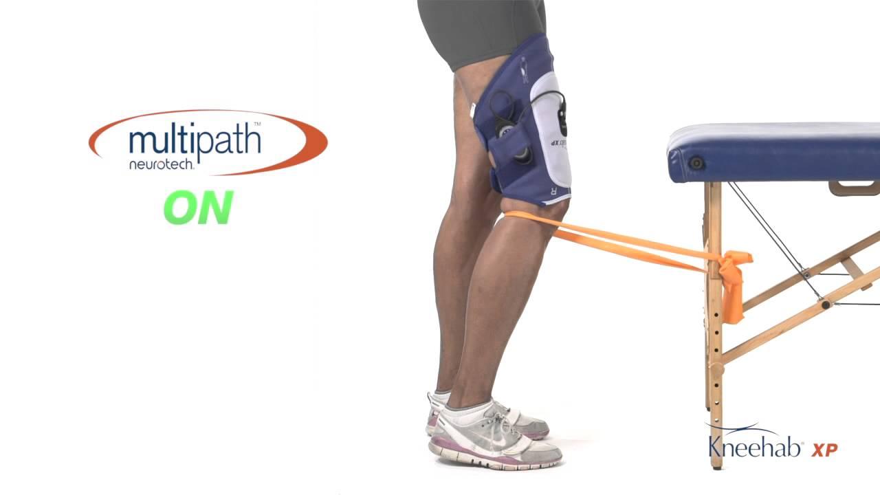 Quadriceps Strengthening in Weight Bearing Postures - YouTube