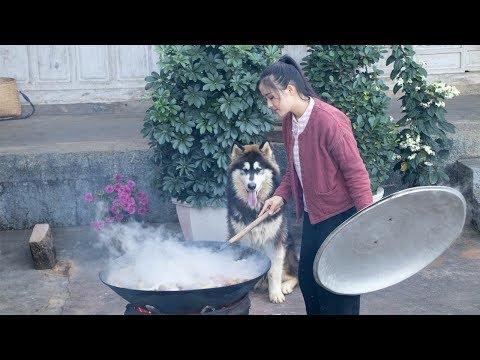 牛扒呼:一道冬日里暖到心窝子的云南下饭菜【滇西小哥】