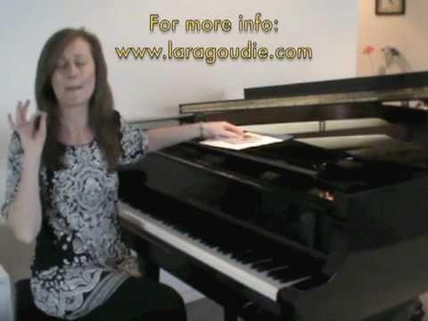 Lara Goudie Album Launch Promo - Nov 2010