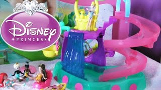 SPLASH!! Disney FROZEN Princess Magic Clip Dolls Waterpark story time Magiclip system