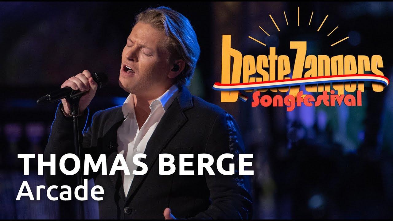 Thomas Berge  Arcade  Beste Zangers Songfestival