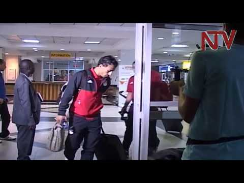 Egyptian Team Arrives Ahead Of World Cup Qualifier Game With Cranes