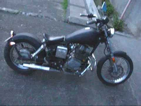 1986 Honda Rebel 250 Custom - YouTube