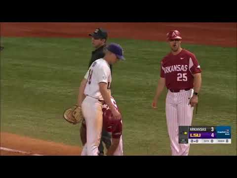 #4 Arkansas vs. LSU Game 1 2018
