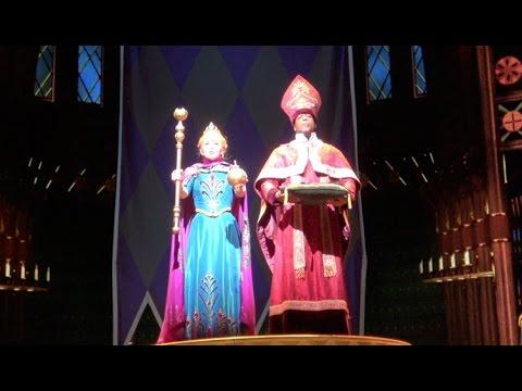 [動画] カリフォルニアディズニーリゾート、ディズニーカリフォルニアアドベンチャーのハイペリオンシアターで行われているアナと雪の女王本...