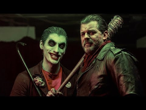 JOKER vs NEGAN (The Walking Dead) - ALTERNATE ENDING