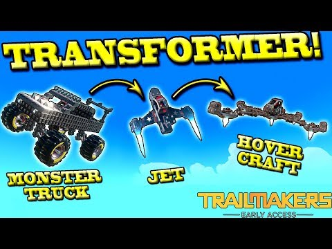 TRANSFORMERS! Monster Truck ▶ Jet ▶ Hovercraft! - Trailmakers Gameplay Free Weekend Ep3