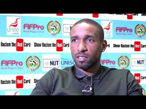 Jermain Defoe interview for Show Racism The Red Card