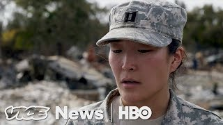 The National Guard Is Sifting Through What Wildfires Left Behind (HBO)