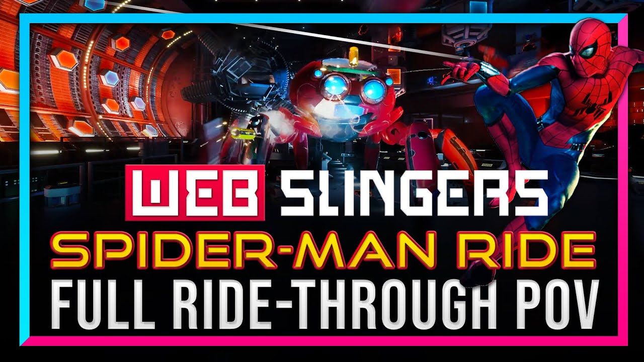 FULL Spider-Man RIDE POV -  WEB SLINGERS at Disney California Adventure - DSNY Newscast