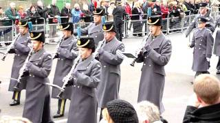 London, Remembrance Day parade 14 Nov 2010, 10:33am