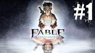 Fable Anniversary Walkthrough Part 1 No Commentary Gameplay Lets Play Playthrough (Xbox 360)