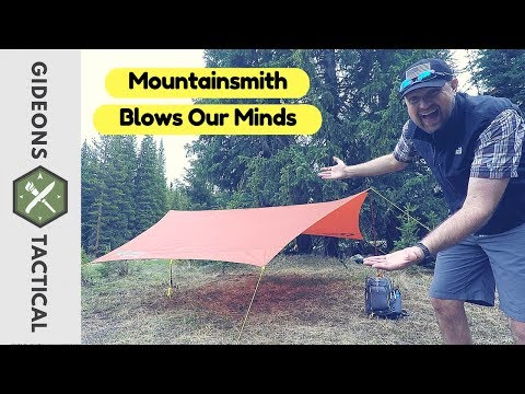 Not What I Expected! Mountainsmith Tarp (mountain shade)