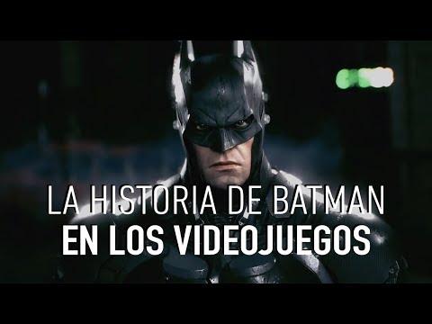 Todos los videojuegos protagonizados por Batman