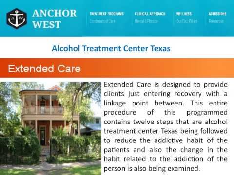 alcohol rehab centers in texas
