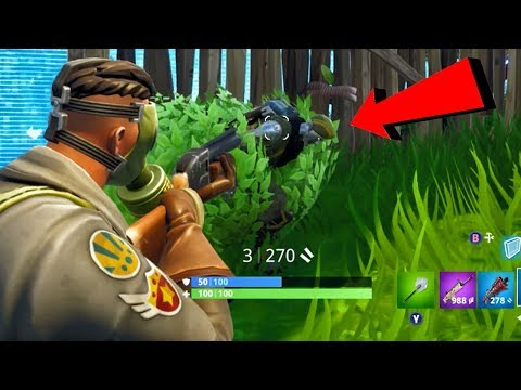 FINAL ENEMY CAMPING IN A BUSH LOL! Fortnite Battle Royale Gameplay Ep. 30