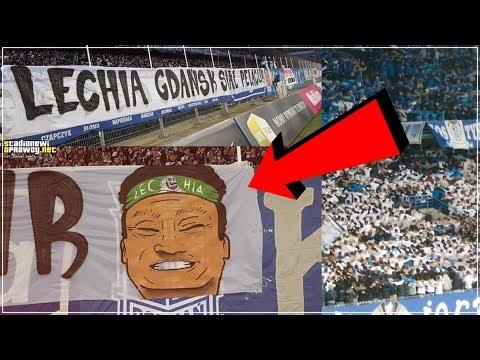 Banner Berbau Rasis Suporter Lech Poznań Untuk Lechia Gdańsk & Egy Maulana Vikri