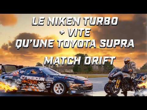 Niken Turbo VS Toyota Supra  ► Drift  ► SW Motech