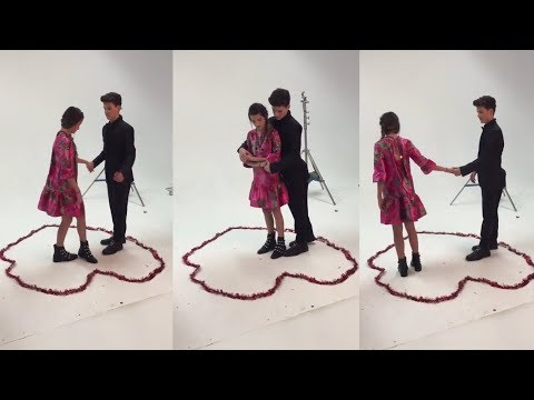 [BEHIND THE SCENES] Hayden Teaching Annie How To Dance - TigerBeat