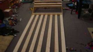 Building A Mini Ramp In Less Than 5 Minutes.