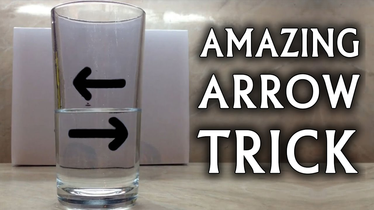 Amazing Water Trick Amazing Science Tricks Using Liquid