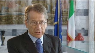 euronews interview - Italy: towards deeper European integration