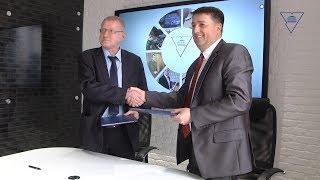 Подписание договора с новым резидентом в Научно-технологическом парке
