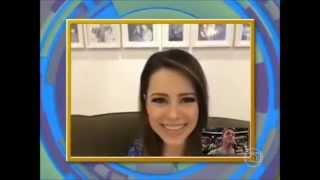 Caldeirão do Huck 16/08/2014 Sandy fala ao vivo sobre seu bebe