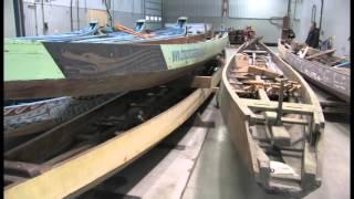 Wooden Dragon Boat Restoration