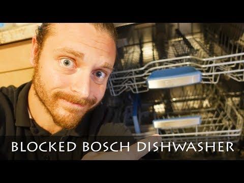 HOW DO I UNBLOCK MY BOSCH SIEMENS DISHWASHER   SECRET HACK