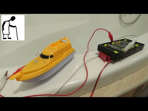 Bargain Store Project Supercapacitor Water Jet Boat