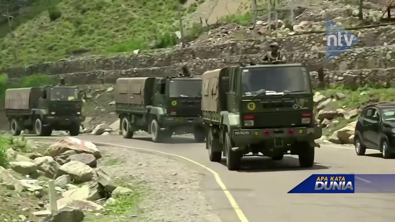 Militer Tiongkok Lebih Kuat Daripada India?