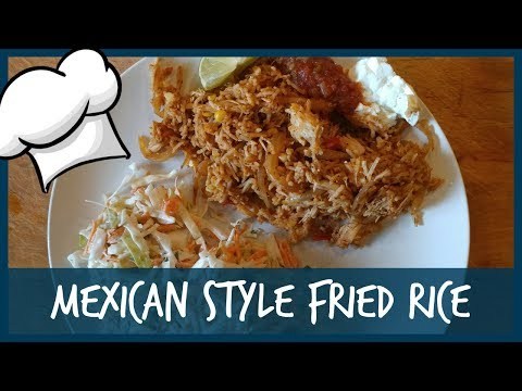 "COOK WITH ME || No recipe ""Mexican"" style fried rice."