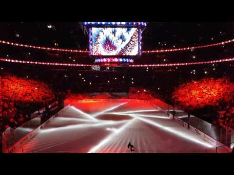 Canadians Game 1 full opening ceremony
