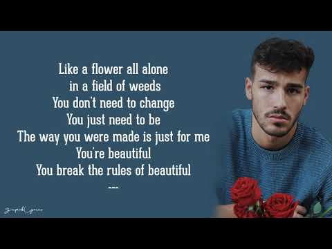 Rules of Beautiful - Jacob Whitesides (Lyrics)