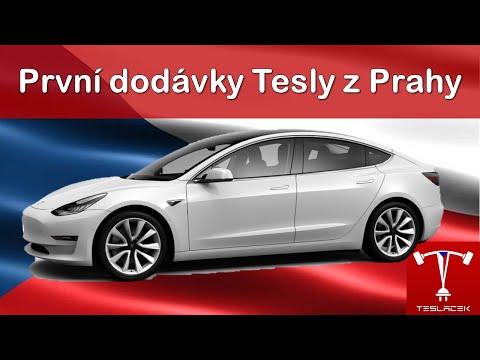 #147 První dodávky Tesla Model 3 do ČR | Teslacek