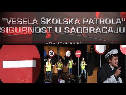''Vesela školska patrola'' – Sigurnost u saobraćaju - 28.04.2017.