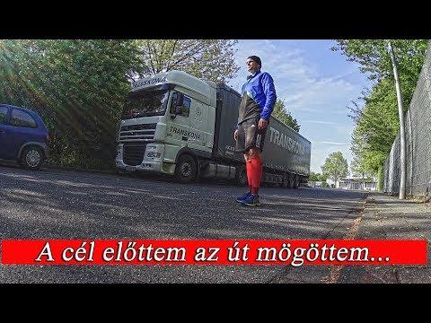 155.Egy nap Lacikával. A kamionos 1 napja.